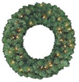 NOMA Indoor Pre-Lit Wreath and Garland Set, 3-Pk | NOMA