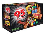 Mars Chocolate Variety Pack, 95-pk | Mars | Mars Chocolate Variety Pack contains an assortment of your favourite fun size chocolate treats Includes Twix, Mars, M&M's Peanut, M&M's Milk Chocolate, and Snic