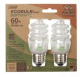 Feit Elextric CFL 13W Ecobulb®Plus Extra Small Bulbs, 2-pk | Feit Electric
