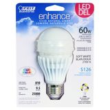 Feit Electric A19 60W Equivalent LED Bulb, Soft White | Feit Electric