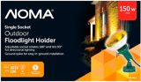NOMA Outdoor Security Flood Light Holder | NOMA