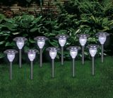 Stainless Steel Solar Metal Light, 10-pk | Emerald Lighting