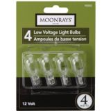 Ampoules Moonrays 4 W basse tension, paq. 4 | Moonrays | Canadian Tire