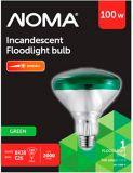 Ampoules à incandescence pour projecteur PAR38 de 100 W, vertes   NOMA   Canadian Tire