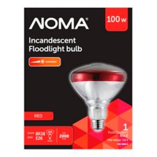 cba103631806 NOMA 100W PAR38 Incandescent Flood Light Bulb