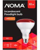Ampoules à incandescence pour projecteur R30 de 75W, rouges   NOMA   Canadian Tire