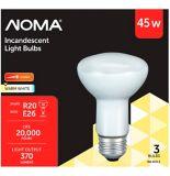Ampoules projecteur incandescence Sylvania 45W R20, blanc doux, pa | NOMA | Canadian Tire