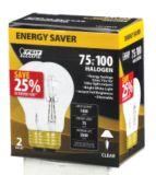 Ampoule halogène haute efficacité NOMA 72 W, paq. 2 | NOMA | Canadian Tire