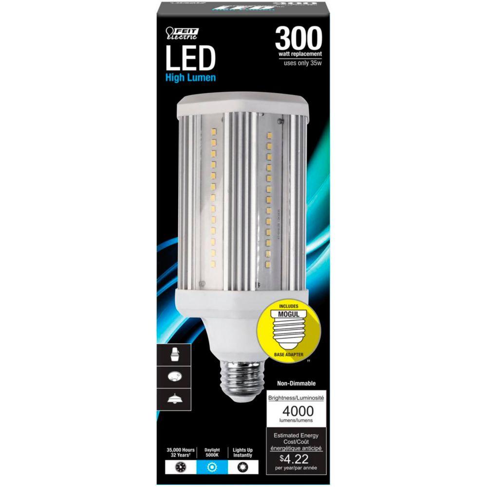 Feit Electric LED 38W Cylindrical Light Bulb