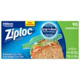 Sacs à sandwich Ziploc, paq. 90 | Ziploc | Canadian Tire
