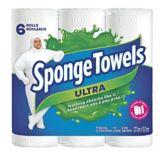 Essuie-tout Sponge Towels Ultra, paq. 6 | Sponge Towel | Canadian Tire