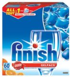 Gélules tout-en-1 Finish Gelpacs, 60 unités | Finish | Canadian Tire