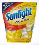 Sunlight Lemon Auto Dish Detergent, 55-pk | Sunlight
