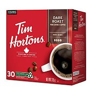 Tim Horton's Dark Roast Coffee Pods, 30-pk