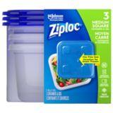 Ziploc Medium Square Containers, 3-ct   Ziploc   Canadian Tire