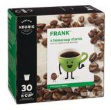 Dosettes K-Cup de café FRANK, mélange mi-corsé | FRANK | Canadian Tire