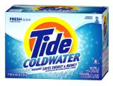 Tide Coldwater Powder Laundry Detergent, 63-Loads | Tide