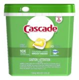 Cascade Citrus Breeze Dishwasher ActionPacs, 90-pk | Cascade