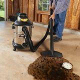 Aspirateur de déchets secs et humides Shop-Vac, inox, 37,8 L | Shop Vac | Canadian Tire