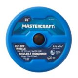 "Mastercraft 4-1/2"" Metal Cut Off Wheel Set, 15-pk 