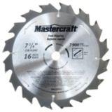 Lame de scie circulaire Mastercraft, 7 1/4 po | Mastercraft | Canadian Tire