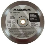 MAXIMUM Diamond-Coated Circular Saw Blade, 7-in | MAXIMUM