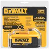 Batterie DeWALT, Li-Ion XR de qualité supérieure, 20 V Max, 4 Ah | Dewalt | Canadian Tire