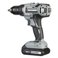 MAXIMUM 20V Max Li-Ion Cordless Drill, 1/2-in