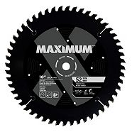 MAXIMUM 52T Ferrous & Steel Metal Cutting Circular Saw Blade, 10-in