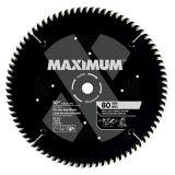 Lame de scie MAXIMUM, stratifié/mélamine, 80 dents, 10 po | MAXIMUM | Canadian Tire