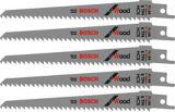 Lame de scie alternative tout usage Bosch6 d/po, paq. 5 | Bosch | Canadian Tire
