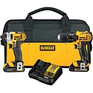 Perceuse et tournevis à percussion sans fil DeWALT, Li-Ion 20 V Max, 1,5 Ah