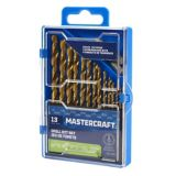Mastercraft 13-piece Titanium Drill Bit Set | Mastercraft