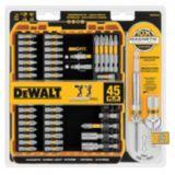 DEWALT 45-pc Max Fit Screwdriving Set | Dewalt | Canadian Tire