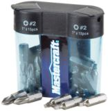 Mastercraft Multi-Pack of Screw Bits | Mastercraft