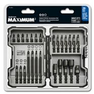 MAXIMUM Screw and Nut Driver Bits Accessory Set, 26-pc