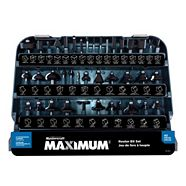 MAXIMUM Router Bit Set, 40-pc