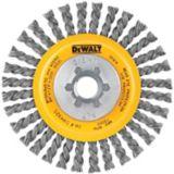 Brosse circulaire à fils en acier carbone noués DeWALT, 4 po | Dewalt | Canadian Tire