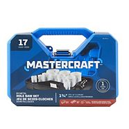 Mastercraft Hole Saw Set, 15-pc