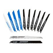Mastercraft 12-piece Assorted Reciprocating Saw Blade Set