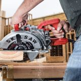 SKILSAW 15A Lightweight Magnesium Worm Drive Circular Saw, 7-1/4-in |