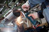 Meuleuse de petit angle au Li-ion Bosch, 18 V, 4 1/2 po | Bosch | Canadian Tire