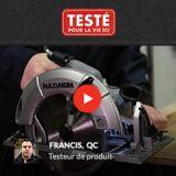 Scie circulaire avec frein électrique MAXIMUM, 15 A, 7 1/4 po | MAXIMUM | Canadian Tire