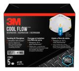 Masque 3M N95 Cool Flow, paq. 5 | 3M | Canadian Tire