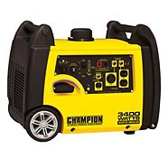 Champion 3400 Watt Gasoline Powered Portable Recoil Inverter Generator