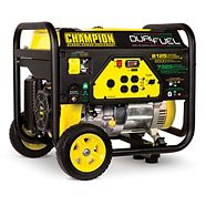 Champion 6500 Watt Dual Fuel Generator