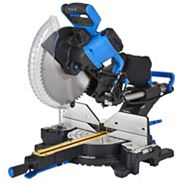 Mastercraft Dual-Bevel Sliding Mitre Saw, 12-in