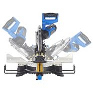 Mastercraft Dual-Bevel Sliding Mitre Saw, 10-in