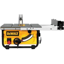 Dewalt Compact Jobsite Table Saw With Site Pro Modular Guarding