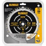 Lame de scie circulaire de destruction 24 dents DEWALT, 7 1/4 po | DEWALT | Canadian Tire